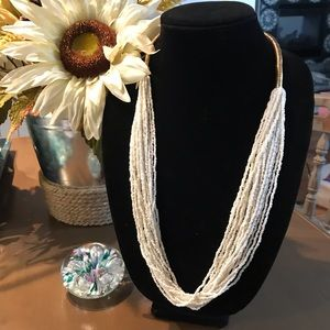 Beautiful Multi Stand Beaded Necklace